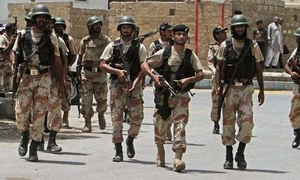 BLA activist surrenders to security forces along with followers, ammunition