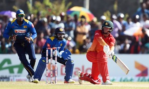 Zimbabwe thrash 'pathetic' Sri Lanka in one day battle