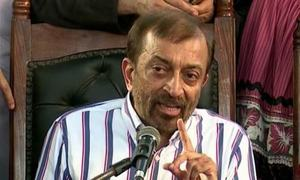 MQM factions spar over leader's meetings in US