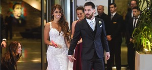 Stars gather as Messi ties the knot with childhood sweetheart