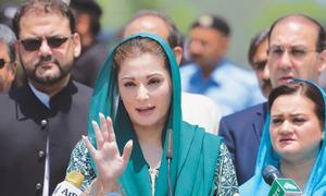 Maryam slams 'hidden hands' behind probe