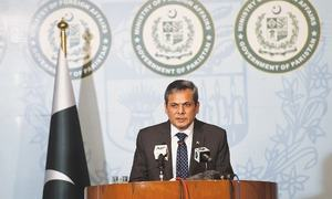 Haqqani network operates from Afghanistan, FO insists