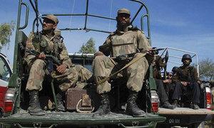 مہمند ایجنسی: بارودی سرنگ کا دھماکا، ایک سیکیورٹی اہلکار ہلاک