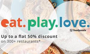 Foodpanda holiday feast lets you avail up to 50% flat discount on 300+ restaurants