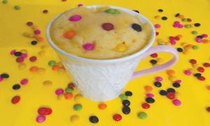 Cook-it-yourself: Mango mug cake
