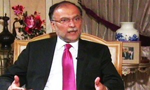 Imran following Fethullah Gulen's model to destabilise govt, claims Ahsan Iqbal