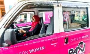 GENDER: WOMEN IN THE DRIVING SEAT