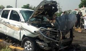 پشاور میں خودکش دھماکا، ایف سی کے میجر شہید