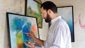 Young painter wants art gallery in KP