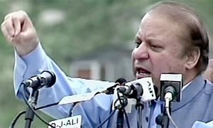 PM Nawaz hits out at rivals during inauguration of Lowari Tunnel in Chitral
