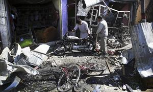 24 killed as car bomb explodes in western Kabul
