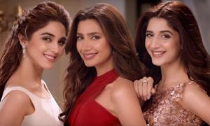 Mahira Khan, Mawra Hocane and Maya Ali embody glamour in the new Lux TVC
