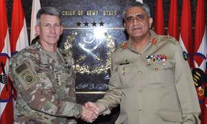 Gen Bajwa meets US general, shares concerns over increasing criticism