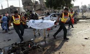 لاہور دھماکا: 'دہشت گردوں نے آسان ہدف کو نشانہ بنایا'