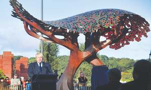 Johnson unveils British memorial in New Zealand
