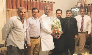 Sarfraz vows to support disabled cricketers