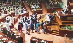 سندھ اسمبلی میں وزیراعظم کےاستعفے کیلئے قرارداد منظور