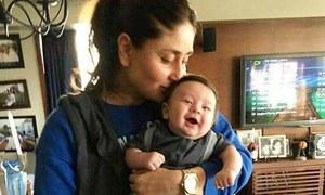 کرینہ کپور بیٹے کو روزانہ کتنی بار چومتی ہیں؟