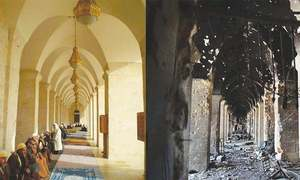 Syrians in Aleppo have a community as well as an ancient mosque to rebuild