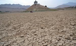A heartbreaking sight: Quetta's fabled Hanna Lake dries up