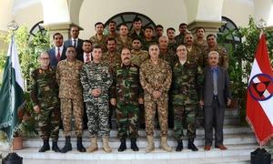 Afghan military delegation meets Peshawar corps commander