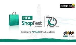 Celebrate Pakistan's 70 years with discounts of up to 70%