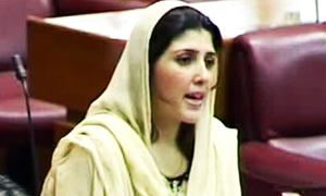 Gulalai says she will not resign from NA seat