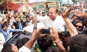 Pindi's official machinery in overdrive ahead of Sharif's rally