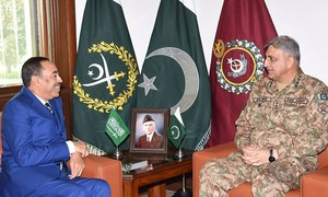 Army chief meets Saudi deputy defence minister, reiterates support for KSA