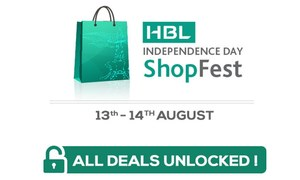 HBL and Daraz.pk salute the nation with discounts of up to 70%
