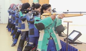Dominant Navy clinch shooting title