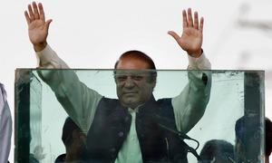 Nawaz Sharif set to carry on mass contact campaign