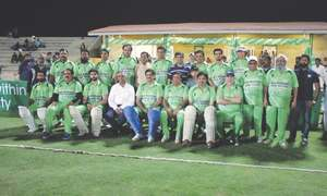 Minister excels in festival match