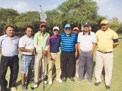 Vivek bags car with Hole-in-One