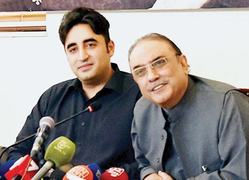 Zardari rules out possibility of joining hands with ex-PM
