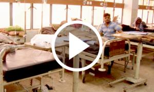 کے ایم سی کے ہسپتالوں میں مریضوں کو کھانے کی فراہمی بند