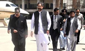 Elected govt is actual establishment, no confrontation among institutions: Abbasi