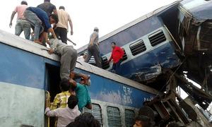 At least 23 dead, dozens injured as train derails in India's Uttar Pradesh