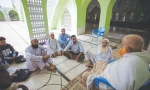 The pilgrim's progress at Haji Camp