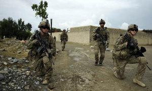 US military leaders await Trump's decision on Afghan mission