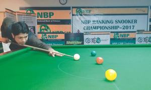Shahid, Asjad set up ranking snooker final