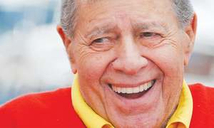 The two sides of Jerry Lewis