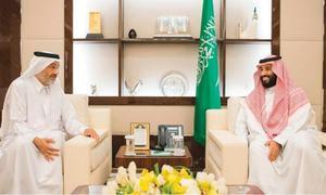 Mystery Qatari sheikh pushed into Gulf crisis spotlight