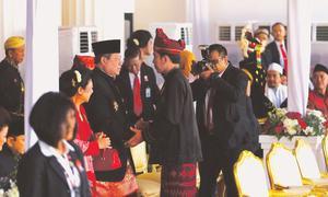 Building bridges between former Indonesian presidents