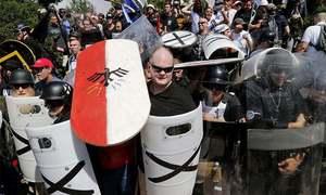 UN decries racist events in US