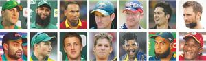 Du Plessis to lead ICC World XI squad in Pakistan series