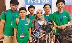 Technology: Team Alphabots makes  Pakistan proud!