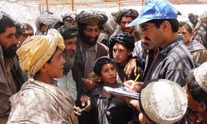 Afghans show overwhelming response to registration process