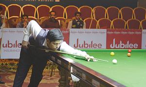 Prolific Asjad Iqbal tops latest PBSF snooker rankings