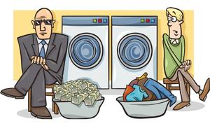 Money laundering hurts legitimate business